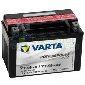 Varta PowerSports AGM 8Ah YTX9-BS